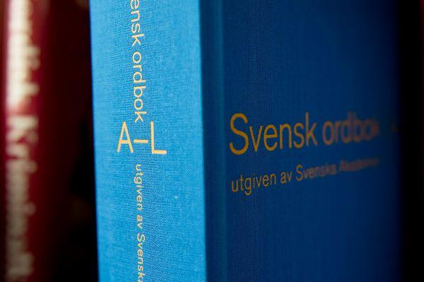Svenska Akademien ligger bakom Svensk ordbok.
