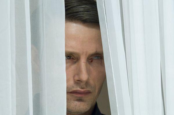 """""""Le Chiffre"""",  spelad av Mads Mikkelsen, i """"Casino royale""""."""